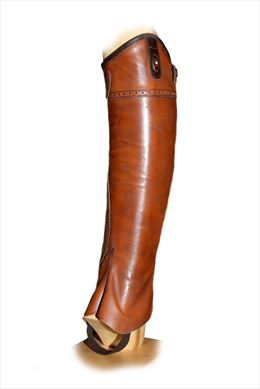 Brown leather Chaps | Image 1