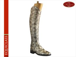 Grey Croc riding boots | Image 1