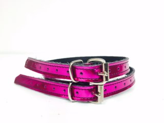 Chrome Pink spur straps | Image 1