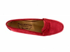 Red Suede Fullerton Moccassins | Image 2